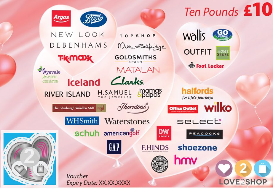 New Retail Collaborations For Park Group S Love2shop Multi Retailer Voucher Thebusinessdesk Com