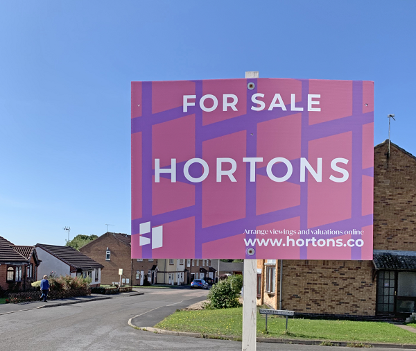 Hortons For Sale Board 1