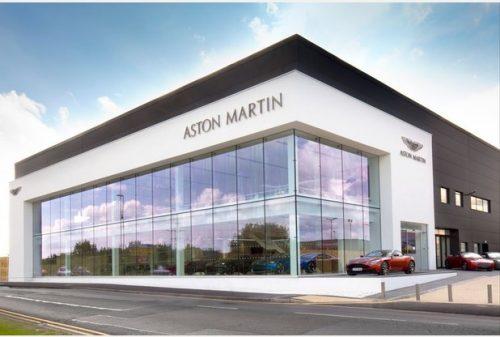 Aston Martin Opens New Nottingham Dealership Thebusinessdesk Com