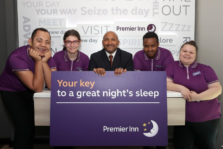Premier Inn opens doors to training hotel to help young