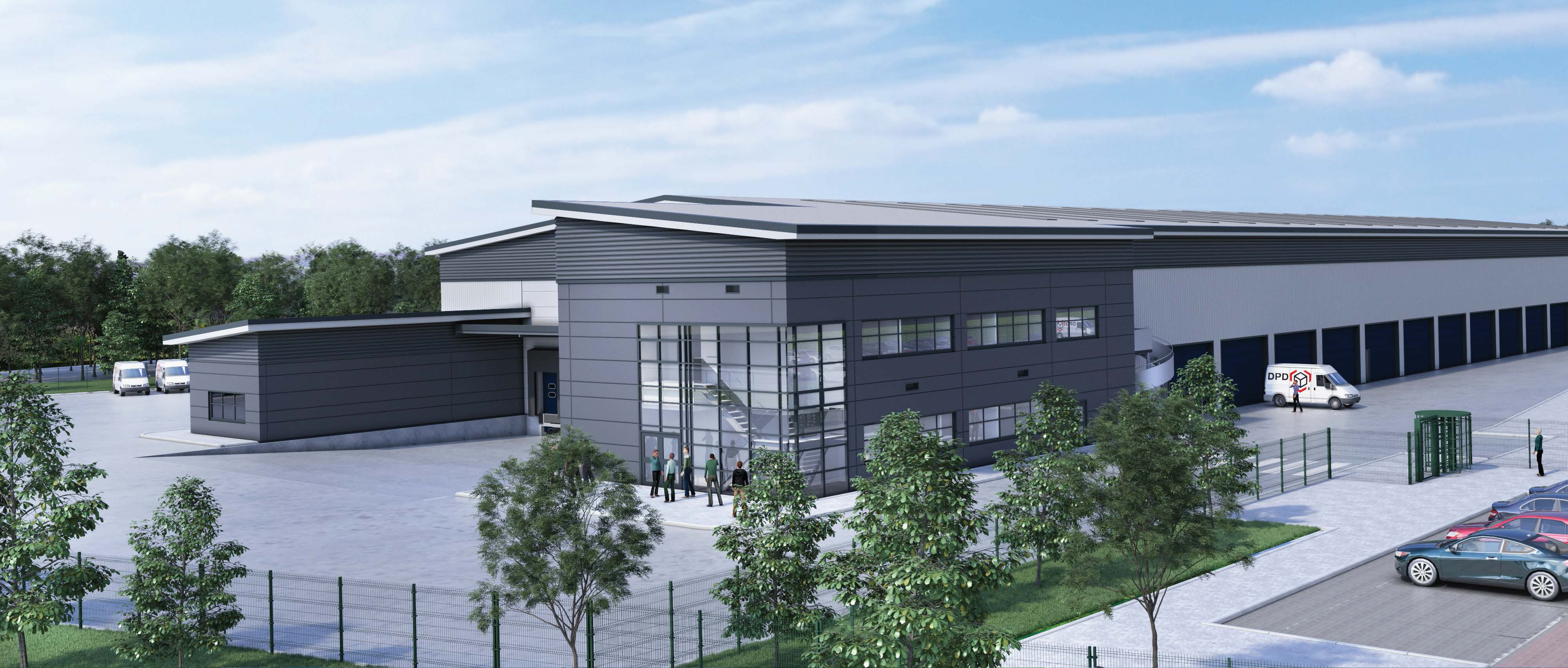 new dpd distribution centre to create up to 100 jobs. Black Bedroom Furniture Sets. Home Design Ideas