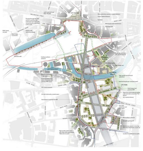 Leeds train station redevelopment masterplan unveiled leeds train station redevelopment masterplan unveiled malvernweather Images
