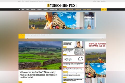 Yorkshire Post owner puts group up for sale