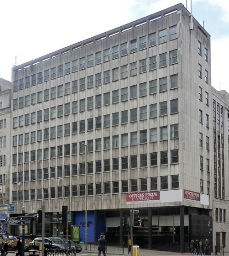 Birmingham City Centre Offices Sold For New Residential
