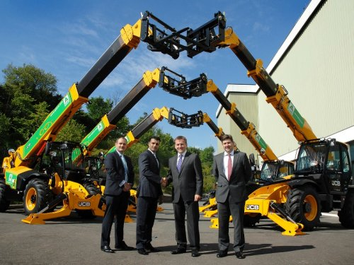JCB secures £35m order from UK plant hire company | TheBusinessDesk com