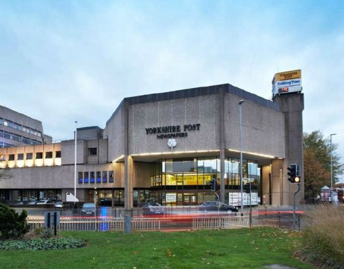 Businessman To Yorkshire Post Hq For Student Scheme