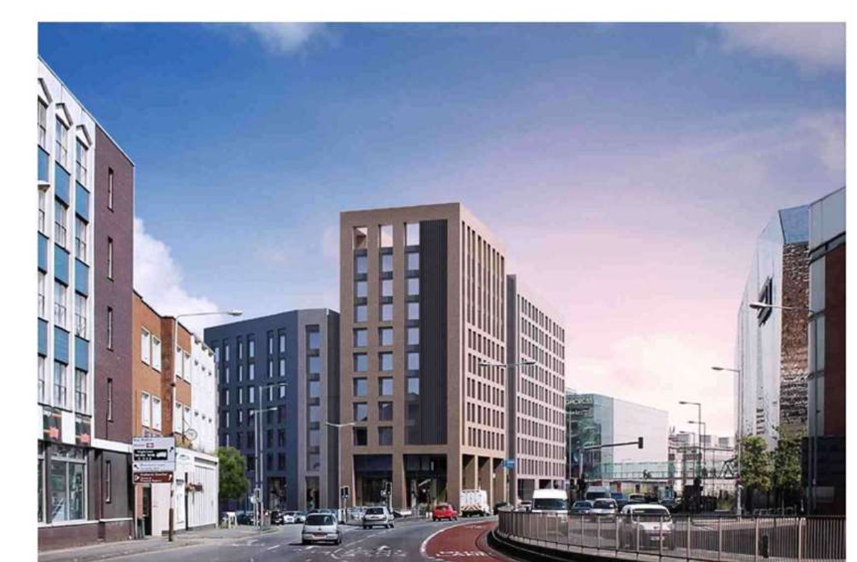 300 Flat Mixed Use Scheme Planned For Leicester City
